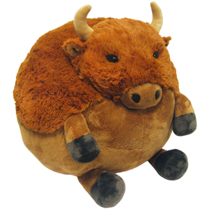 Squishable Buffalo An Adorable Fuzzy Plush To Snurfle And Squeeze