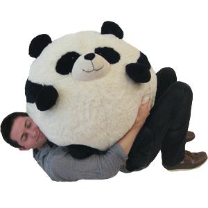 Massive Panda Bean Bag An Adorable Fuzzy Plush To Snurfle