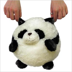 Mini Squishable Panda An Adorable Fuzzy Plush To Snurfle