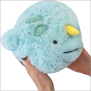 Mini Squishable Narwhal An Adorable Fuzzy Plush To
