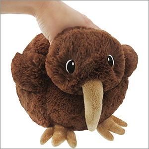 Mini Squishable Baby Kiwi An Adorable Fuzzy Plush To Snurfle And
