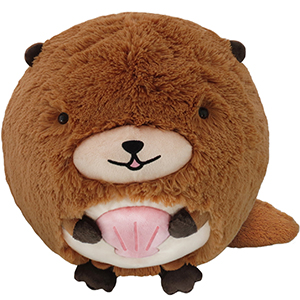 squishable sea otter an adorable fuzzy plush to snurfle and squeeze