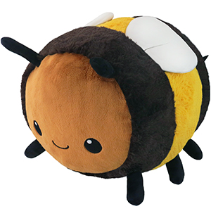 Squishable Fuzzy Bumblebee An Adorable Fuzzy Plush To Snurfle And