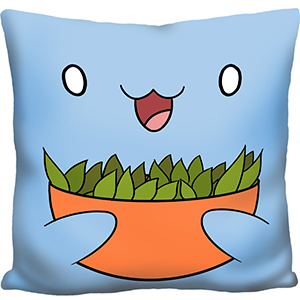 Catbug Sugar Peas Pillow An Adorable Fuzzy Plush To Snurfle And