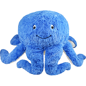 Squishable Blue Octopus An Adorable Fuzzy Plush To