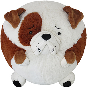 Squishable Bulldog An Adorable Fuzzy Plush To Snurfle And Squeeze