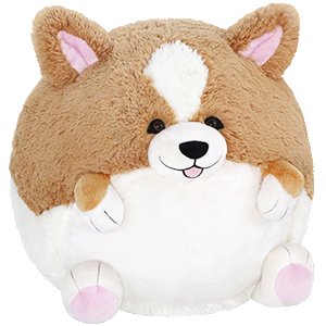 Squishable Corgi An Adorable Fuzzy Plush To Snurfle And Squeeze