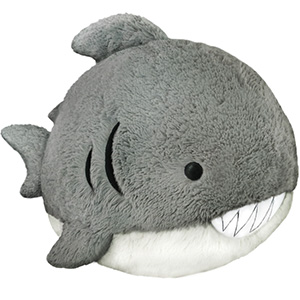 Squishable Great White Shark An Adorable Fuzzy Plush To Snurfle And