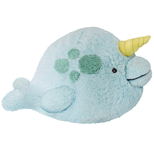 Squishable Narwhal An Adorable Fuzzy Plush To Snurfle And Squeeze