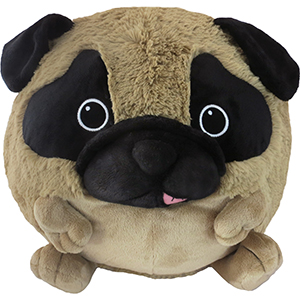 Squishable Pug An Adorable Fuzzy Plush To Snurfle And