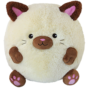 Squishable Siamese Cat: An Adorable Fuzzy Plush to Snurfle