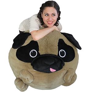 Incredible Massive Pug Bean Bag Machost Co Dining Chair Design Ideas Machostcouk