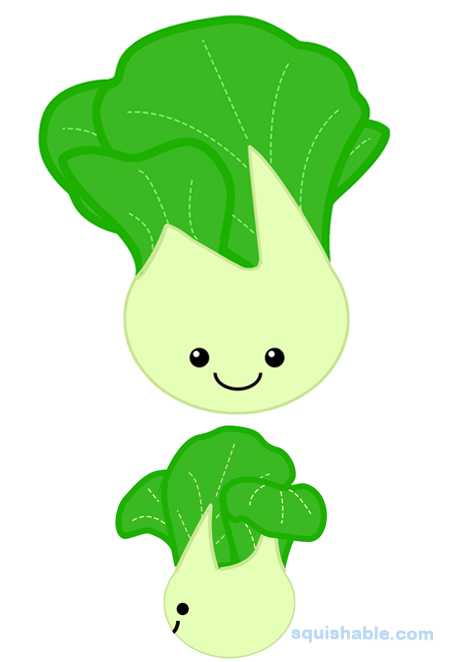 Image result for baby bok choy animated