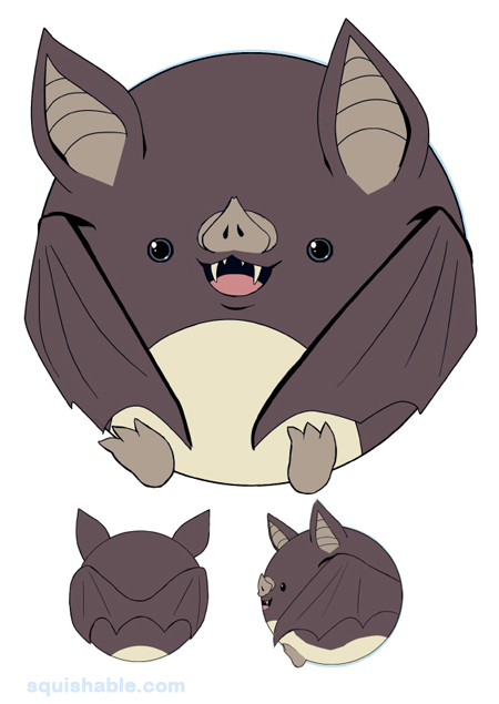 Squishable Com Squishable Vampire Bat An Adorable Fuzzy Plush To
