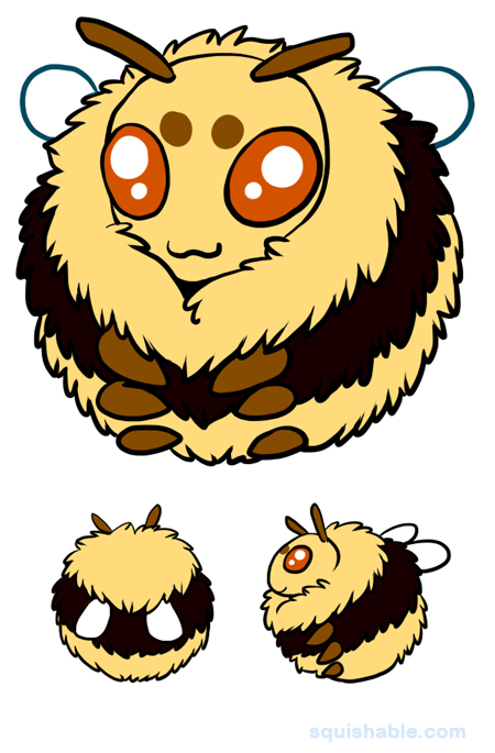 squishable.com: Squishable Bumblebee. An Adorable Fuzzy ...