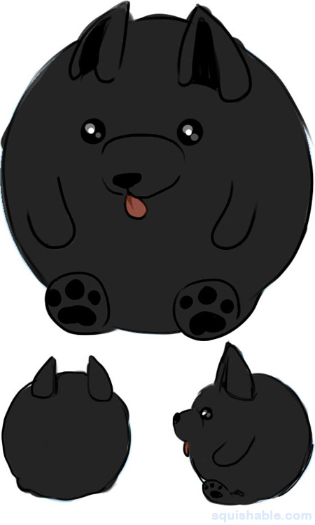 squishable.com: Squishable Schipperke. An Adorable Fuzzy Plush to ...