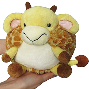 Squishy Justice : Mini Squishable Giraffe: An Adorable Fuzzy Plush to Snurfle and Squeeze!