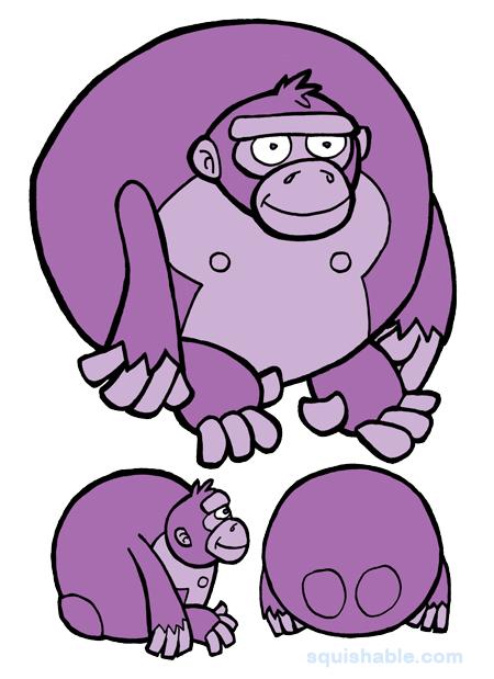 Purple Gorilla Computer But Purple Gorillas Are Pretty