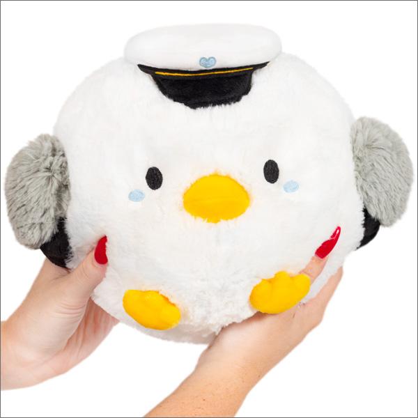 Black /& White Mini 7 Squishable Penguin Plush