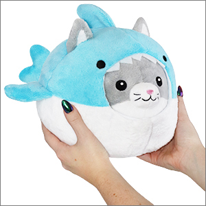 Squishable Com Undercover Kitty In Shark